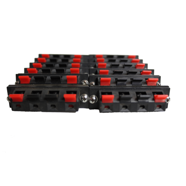 Firelinx Firing Systems - Spring terminals for Firing Module - lined up front view